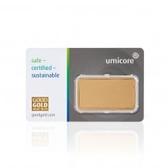 1 Unze Goldbarren Umicore Mini