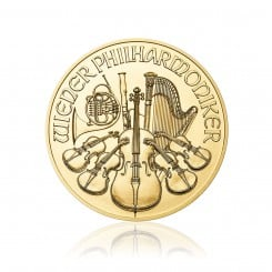 1/2 Unze Wiener Philharmoniker Gold 2017 Mini
