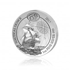 1 Unze Silber Nautical Ounce Santa Maria 2017 (Stempelglanz) Mini