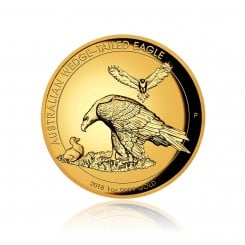 1 Unze Gold Wedge Tailed Eagle 2018 PP (High Relief) Mini