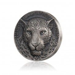 5 Unze Silber Big Five Mauquoy Leopard 2018 High Relief (AF | Auflage: 999) Mini