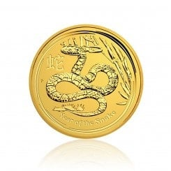 1/20 Unze Gold - Year of the Snake 2013 - Lunar II Mini