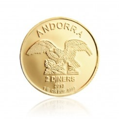 1 Gramm Gold Andorra Eagle 2013 Mini