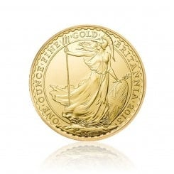 1 Unze Gold Britannia 2013 Mini