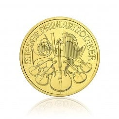 1 Unze Gold Wiener Philharmoniker Mini