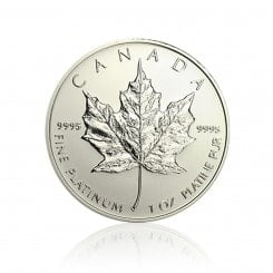 1 Unze Platin Maple Leaf  Mini