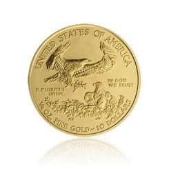 1/4 Unze Gold American Eagle 2013 Mini