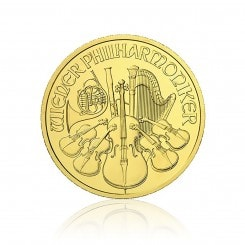 1/10 Unze Gold Philharmoniker 2012 Mini
