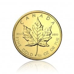 1/4 Unze Gold Maple Leaf 2012 Mini