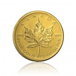 1/20 Unze Gold Maple Leaf 2012 Mini