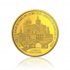 1/2 Unze Gold 100 Euro 2009 Trier Mini