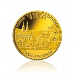 1/2 Unze Gold 100 Euro 2008 Goslar Mini