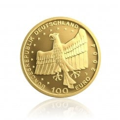 1/2 Unze Gold 100 Euro 2004 Bamberg Mini