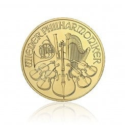 1 Unze Gold Philharmoniker 2012 Mini