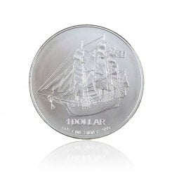1 Unze Silber Cook Islands   Mini