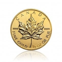 1/2 Unze Gold Maple Leaf  2014 Mini