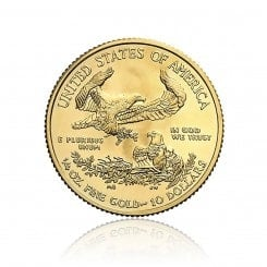 1/4 Unze Gold American Eagle 2014 Mini