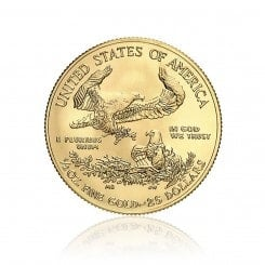 1/2 Unze Gold American Eagle 2014 Mini