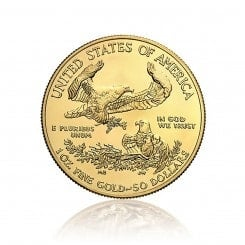 1 Unze Gold American Eagle 2014 Mini