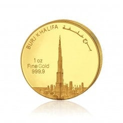 1 Unze Gold Burj Khalifa 2012 Mini