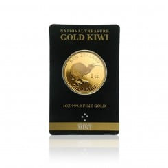 1 Unze Gold Kiwi New Zealand (im Blister) Mini