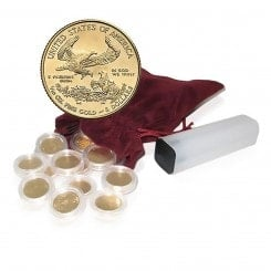 100 x 1/10 Unze Gold American Eagle 2014 Mini