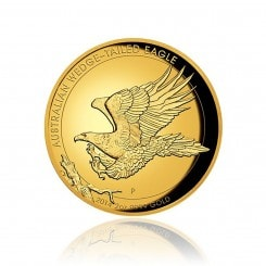 2 Unze Gold Wedge Tailed Eagle 2014 PP (High Relief) Mini