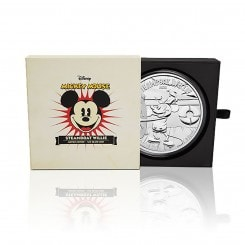 1kg Silber Disney Steamboat Willie PP 2015 Mini