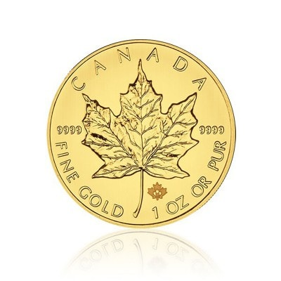 1 Unze Gold Maple Leaf 2015