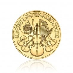 1/10 Unze Gold Philharmoniker 2010 Mini