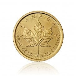 1/4 Unze Gold Maple Leaf 2015 Mini