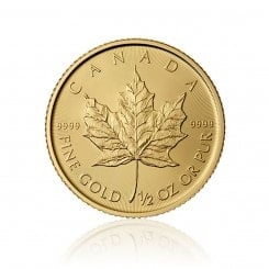 1/2 Unze Gold Maple Leaf  2015 Mini