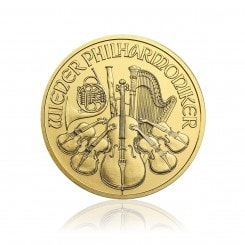 1 Unze Wiener Philharmoniker Gold 2016 Mini