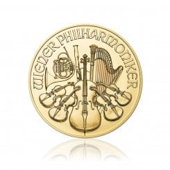 1/2 Unze Wiener Philharmoniker Gold 2016 Mini