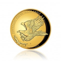 1 Unze Gold Wedge Tailed Eagle 2015 PP (High Relief) Mini