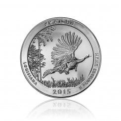 5 Unze Silber ATB Kisatchie National Forest 2015 Mini