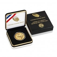 1 Unze Gold American Liberty 2015 (High Relief | 100 $ Dollar) Mini