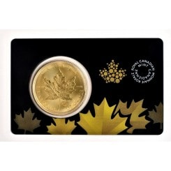 1 Unze Gold Maple Leaf 2015 (im Blister) Mini