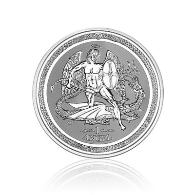 1 Unze Silber Angel Isle of Man 2016 (Reverse Proof)