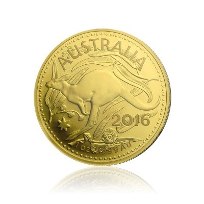 1 Unze Gold Känguru 2016 (im Blister | Royal Australian Mint)