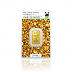 5g Goldbarren Argor Heraeus (Fairtrade) Mini