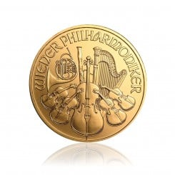 1 Unze Wiener Philharmoniker Gold 2011 Mini