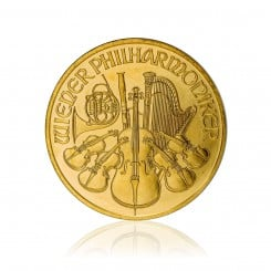 1 Unze Wiener Philharmoniker Gold 2009 Mini