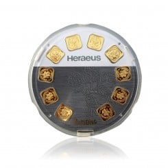 10g (10x1g) MultiDisc Heraeus Goldbarren Mini
