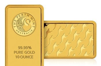 10 oz Goldbarren