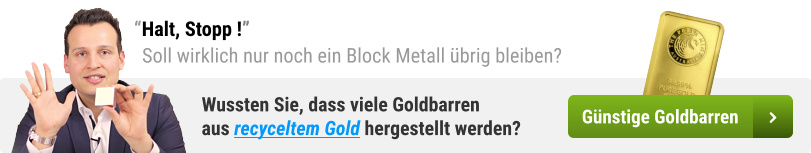 Halt Stopp - Goldbarren