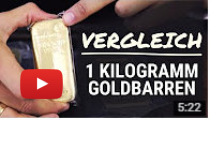 1kg Goldbarren Video
