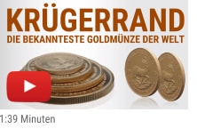 Krügerrand Goldmünze Video