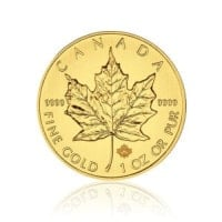 Maple Leaf Goldmünzen Design